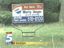 For sale signs are a common sight in almost any Triangle neighborhood these days, and they usually carry a 'sold' banner pretty quickly. (WRAL-TV5 News)