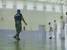 Youthful offenders are undergoing a boot camp-style discipline in Durham. (WRAL-TV5 News)