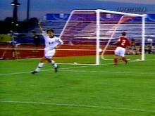 Mia Hamm makes another great play to