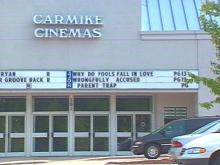 Robbery Plays Out at Cary Movie Theater
