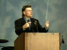 Graham Targets Teenagers in Greenville Sermon