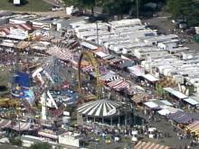 Three people were injured Saturday night at the State Fair when three cars on a roller coaster collided. (WRAL-TV5 News)