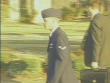 Airman Scott Williams was convicted today(WRAL-TV5 News)