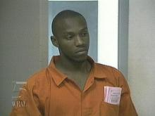 This photo of Bem Holloway was taken the day after he was arrested.(WRAL-TV5 News)