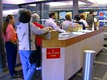 The Holiday Rush is On at the Post Office