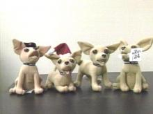 The chihuahua in the Taco Bell commercials is now a toy, and over 13 million have been sold.(WRAL-TV5 News)