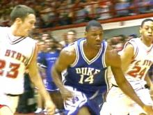 The Duke Blue Devils ran past the Wolfpack Saturday in Reynolds Stadium.(WRAL-TV5 News)