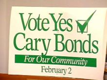 Cary Residents Approve Three Parts of $149 Million Bond Package