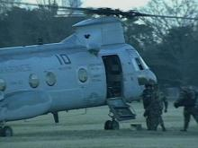 Camp Lejeune Court-Martial Takes to the Skies