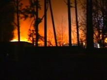 Fort Bragg Fire Destroys Construction Site Near Womack