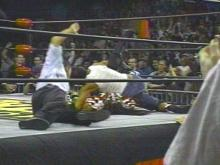 The Monday Nitro wrestlers set off an explosion.(WRAL-TV5 News)