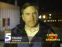 WRAL's Mark Roberts reports from Tirana, Albania.(WRAL-TV5