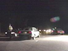 Deputies set up a checkpoint to snare violators.(WRAL-TV5 News)