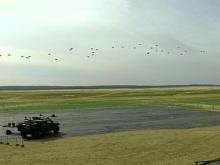 Air Meets Ground in Simulated War at Fort Bragg