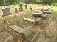 Vandals Disrupt the Peace at Halifax Cemetery