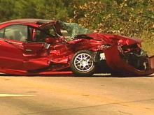 Raleigh Fire Truck and Car Collide