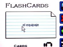 Interactive flash cards help with translation, as do some neat matching games.(WRAL-TV5 News)