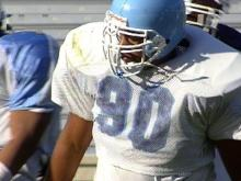 Brian Norwood is off of the Carolina football team until his legal situation is fully resolved.(WRAL-TV5 News)