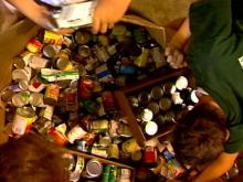 Food Bank Feeds Floyd's Hungry and Homeless