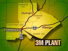 3M announced Tuesday that it will open a plant near Pittsboro.(WRAL-TV5 News)