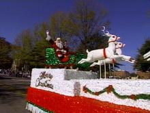 Santa Makes Early Appearance at Parade, Christmas Show