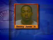 Specialist Donny Jones Jr. was arrested when he took specialist Eric Kendall to the hospital for a gunshot wound to the face.(WRAL-TV5 News)