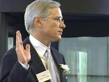 Coble Sworn In as Raleigh Mayor
