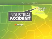 A Halifax County worker died Friday after he was crushed in an industrial accident.(WRAL-TV5 News)