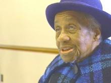 101-year-old Mary Gartrell says she is glad to be in the land of the living and able to get around.(WRAL-TV5 News)