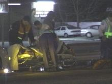 A violent car accident in Fayetteville sent two people to the hospital on Monday.(WRAL-TV5 News)