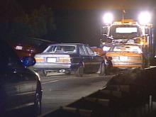 Two people are dead, and five are reported injured after a multi-car wreck in Wake County Friday night.(WRAL-TV5 News)