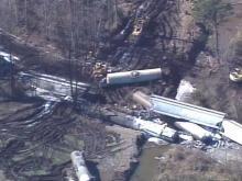 State Watching Pitt County Creek After Train Derailment
