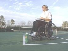 Campbell Professor Refuses To Let Paralysis Keep Her Off Tennis Court