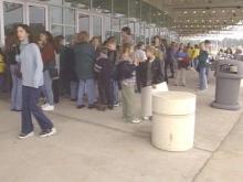 Thousands of Teenage Fans Pack ESA for Backstreet Boys Concert