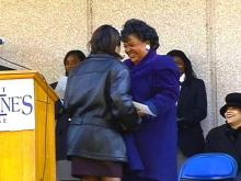 CIAA School Scores by Hiring First Female President