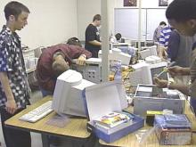 Durham Students Build Computers For Flooded Schools in Eastern North Carolina