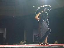 The runway of fashions is part of the glamour of the CIAA.(WRAL-TV5 News)
