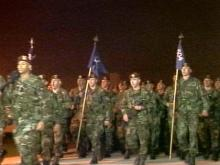 Fort Bragg Paratroopers Return from Kosovo