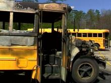 School Officials Say Bus Fires Intentionally Set
