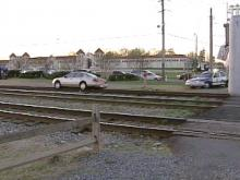 Raleigh Woman Takes Trip On Wrong Side Of Tracks