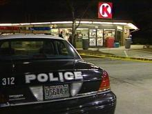 Newspaper couriers discovered a dead body at this Circle K around 4 a.m. Wednesday.(WRAL-TV5 News)