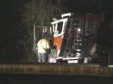 Fire Engine Collides With Train; Firefighter Killed