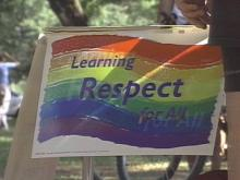 Gay pride hit the streets of downtown Durham this weekend. The N.C. Pride 2000 March and Festival attracts dozens of groups trying to spread their message of tolerance.(WRAL-TV5 News)