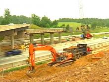 Road Construction Under Way Near New Southpoint Mall