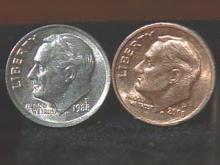 Henderson Woman Hopes To Get More Than Ten Cents For Copper-Colored Dime