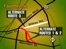 DOT Proposes Alternate Routes for Owen Drive Extension