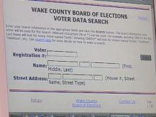 Personal Information About Wake County Voters Can Be Found Online