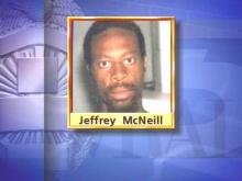 Jeffrey Lamont McNeill is a suspect in the Trinity Park sexual assaults.(WRAL-TV5 News)