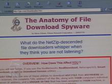 Companies can create profiles of computer users with spyware programs. The programs tag your computer with an identification number. Every file a computer user downloads is reported to the program's source.(WRAL-TV5 News)