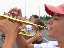 Green Hope Marching Band Wants To Start First Season On A High Note